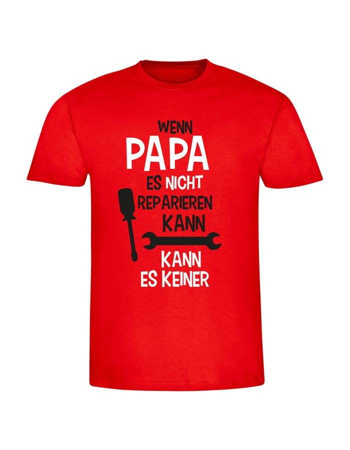 """T-Shirt """"Wenn Papa es nicht reparieren kann"""" - Herren"""