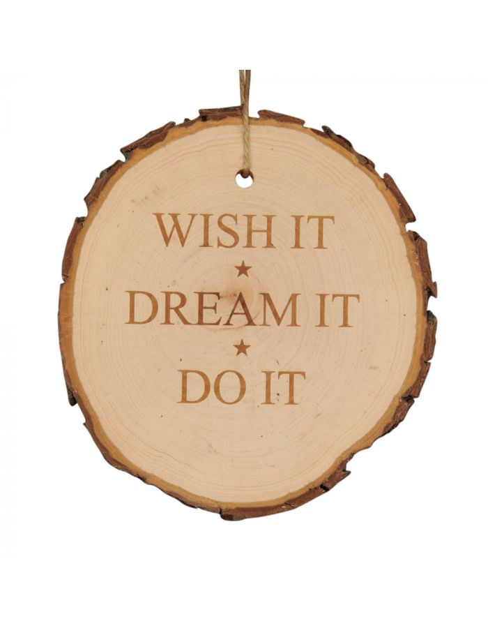 "Baumscheibe ""WISH IT★ DREAM IT ★ DO IT"""